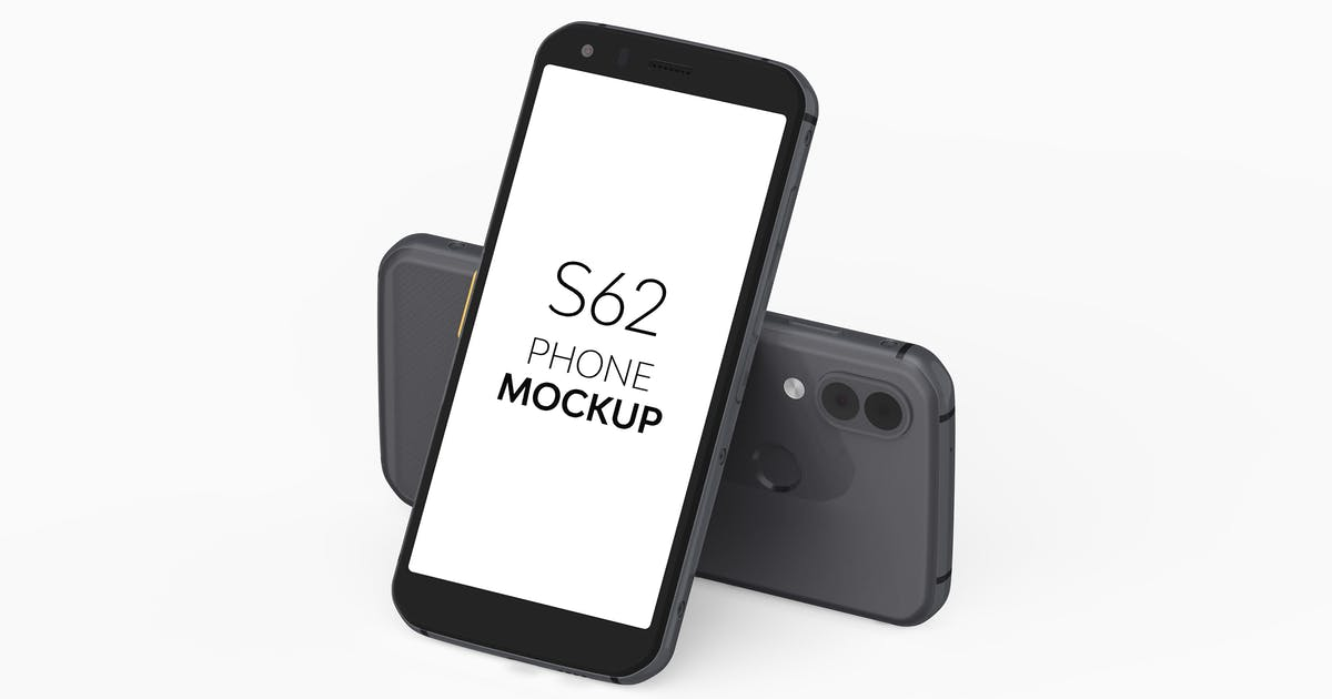 Download S62 Phone Mockup by UnicDesign