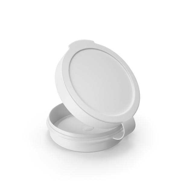 Таблетки Pod шарнир Топ 1/4 унции Открытый Белый