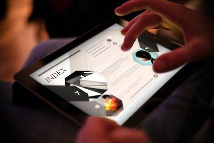 Design Magazine 8 for Tablet
