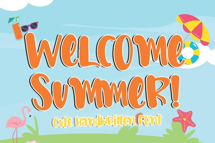 Bienvenue été