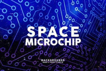 Space-Mikrochip-Hintergründe 1