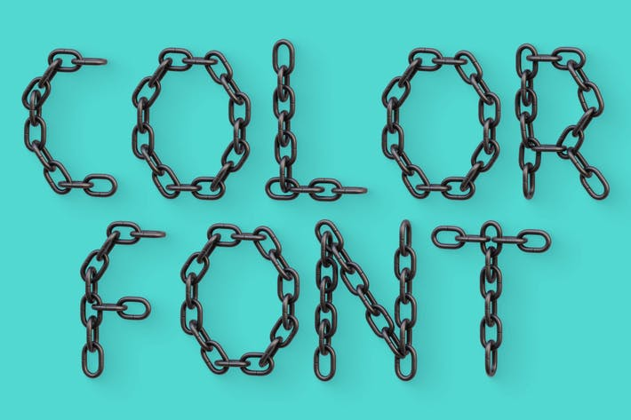 Chain - Color SVG Font