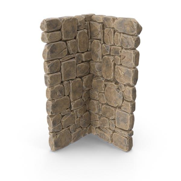Modular Stone Wall Corner