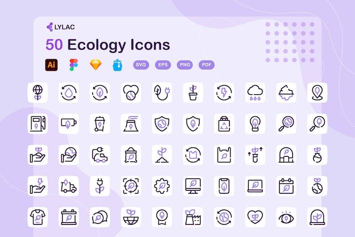 Lylac - Ökologie-Symbole