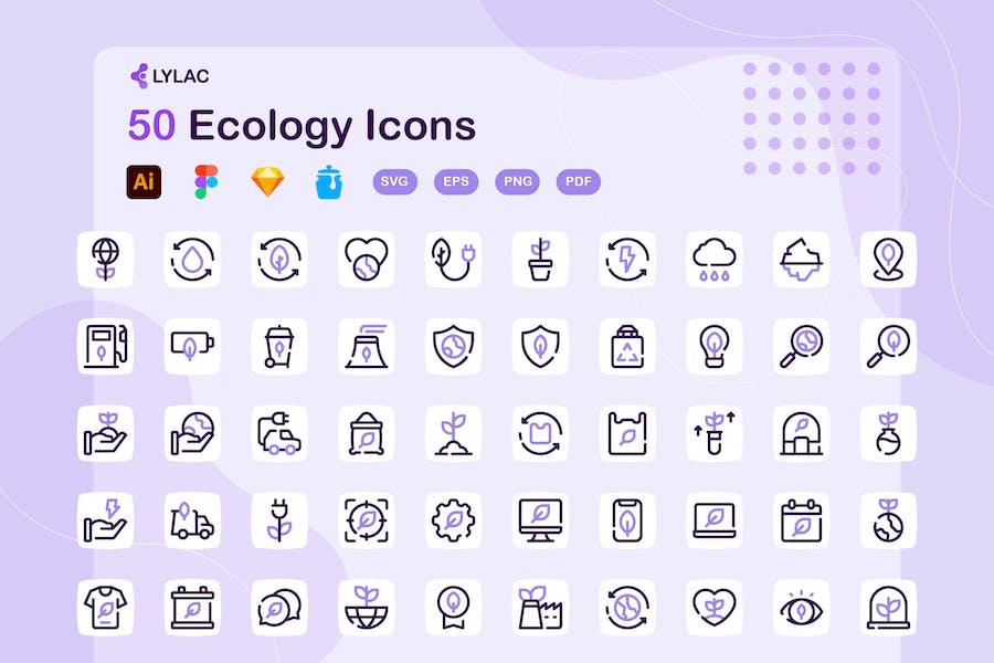 Lylac - Ecology Icons