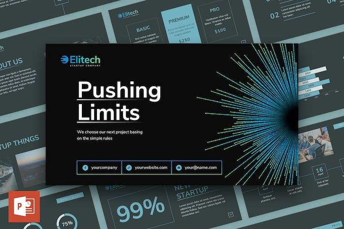 Thumbnail for Шаблон презентации PowerPoint для запуска технических технологий