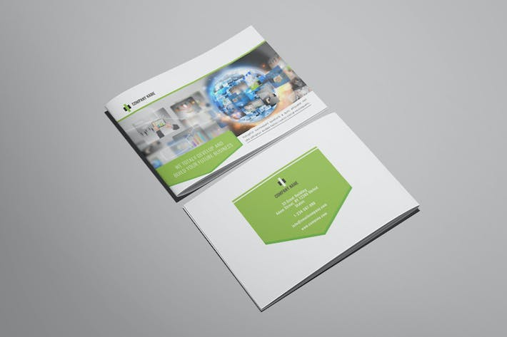 Thumbnail for Wonderpro - A5 Business Brochure Template