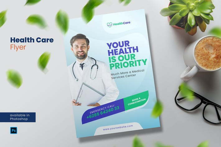 Thumbnail for Health Care Flyer