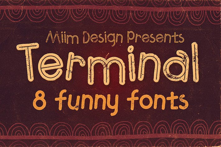 Thumbnail for Terminal - Funny Font