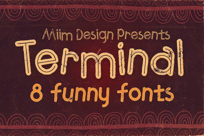 Thumbnail for Terminal - Fuente divertida