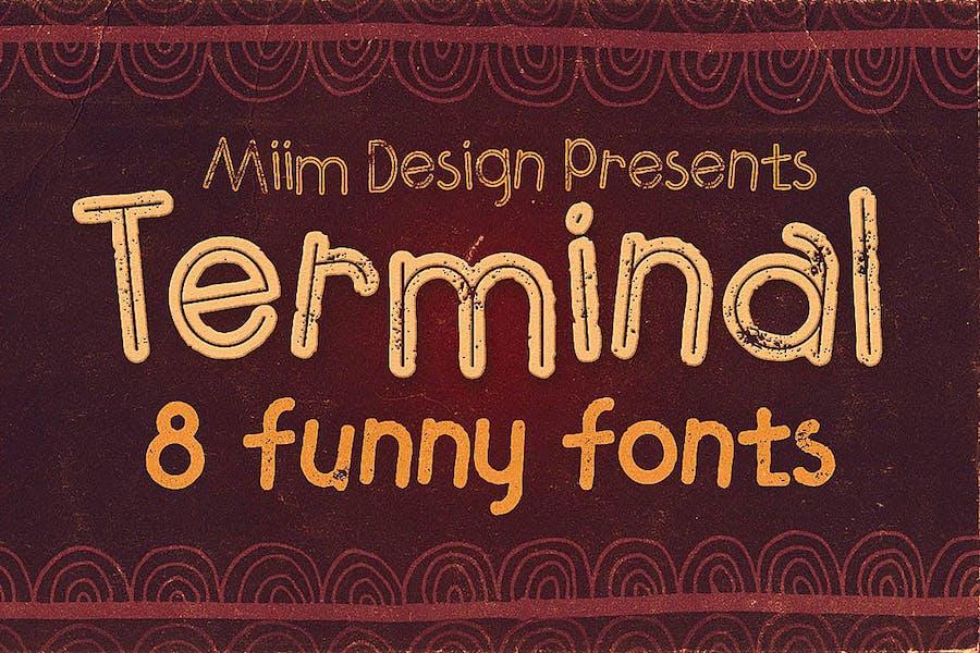 Terminal - Funny Font