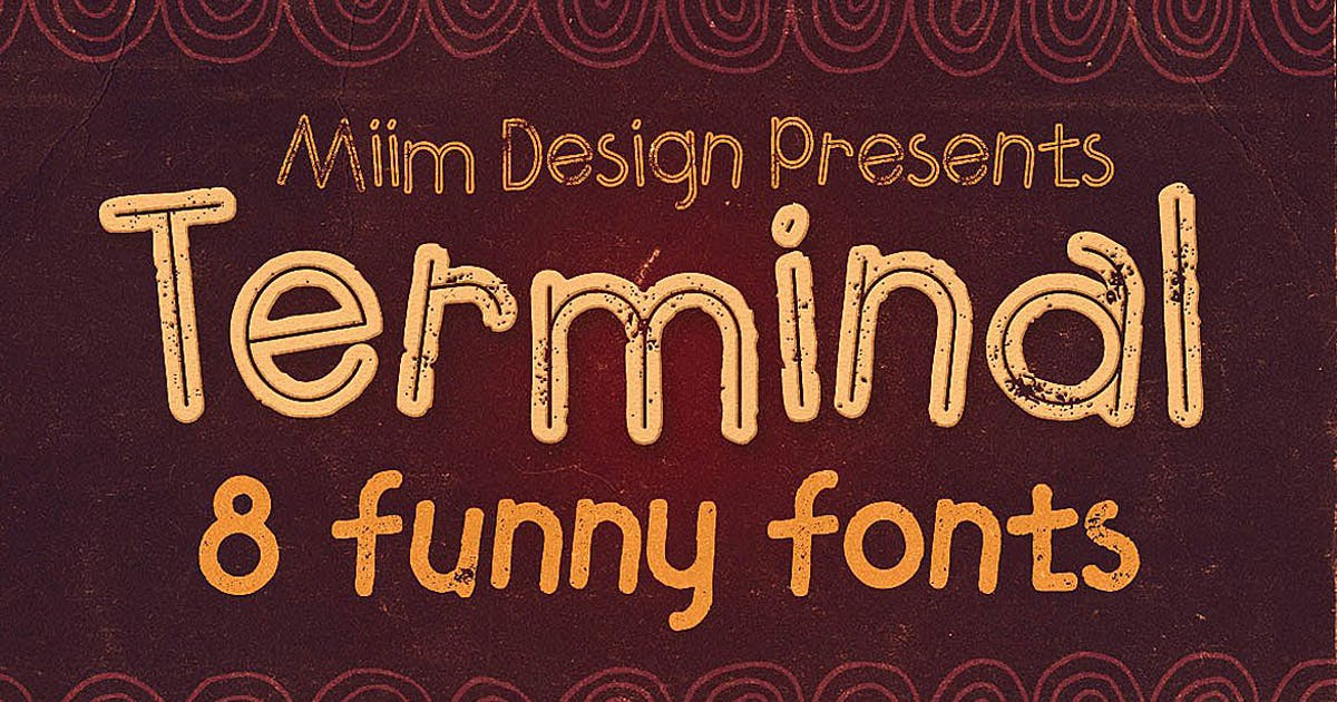 Download Terminal - Funny Font by cruzine