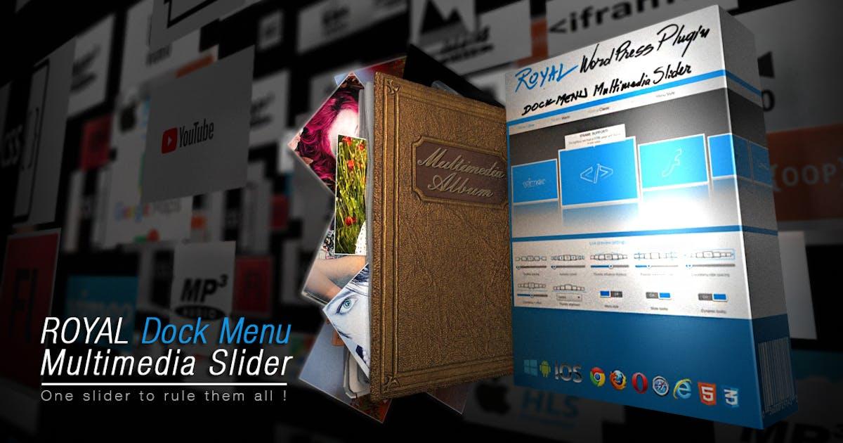Download Royal Dock Menu Multimedia Slider Wordpress Plugin by FWDesign