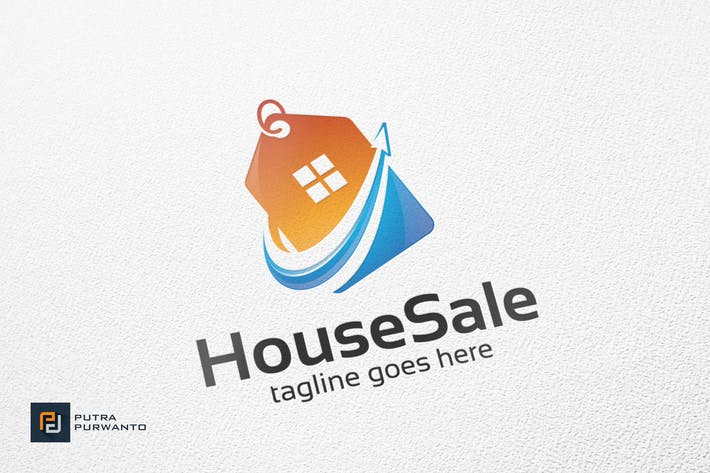 Thumbnail for House Sale - Logo Template