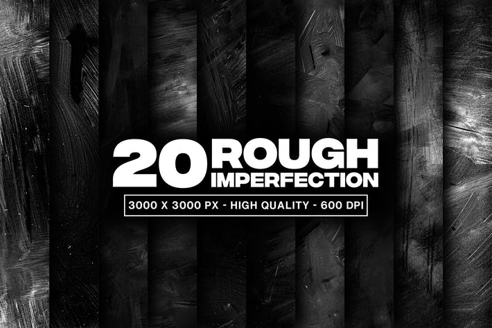 20 Rough Imperfection Grunge Texture
