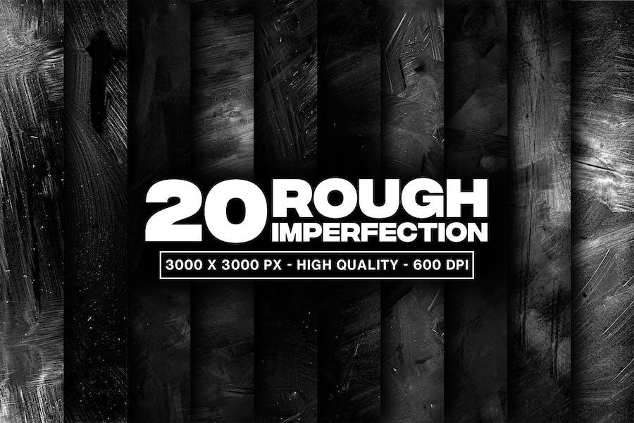 20 Grobe Unvollkommenheit Grunge-Textur
