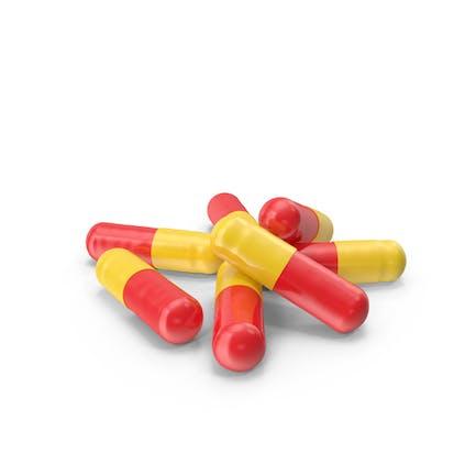 Cápsulas de pastillas