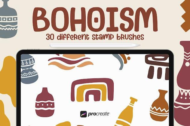 Bohoism - Procreate Stamp Brush