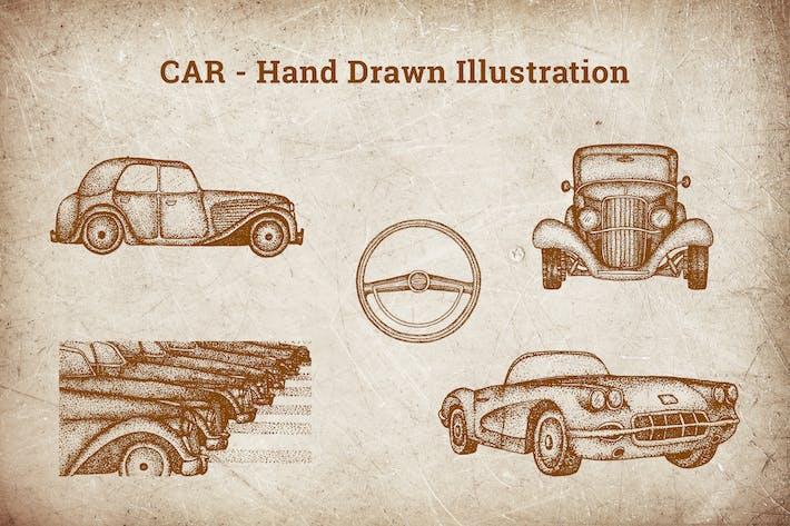 Thumbnail for Hand Drawn Illustration - Car