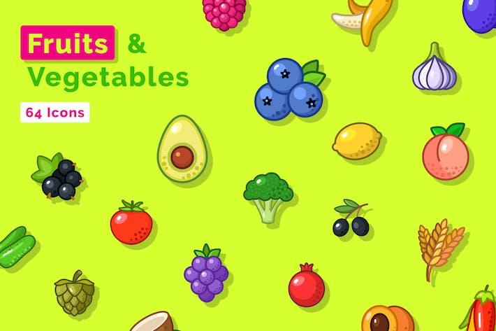 Thumbnail for Icons für Obst und Gemüse