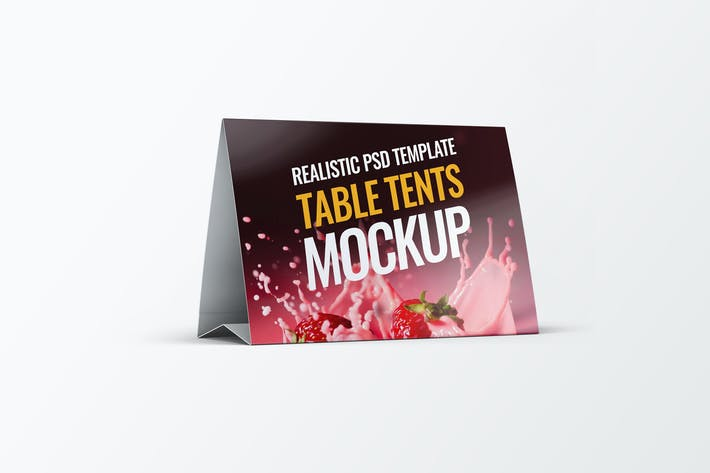 Thumbnail for Table Tents Mock-Up V.2