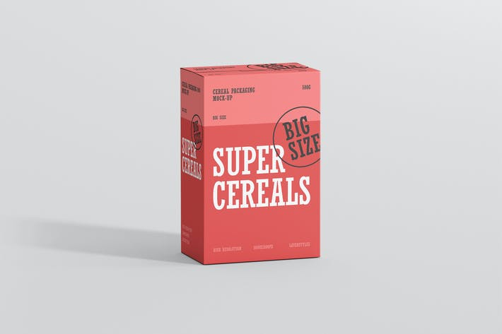Thumbnail for Cereals Box Mockup - Big Size