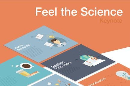 Feel the Ciencia Keynote Plantilla