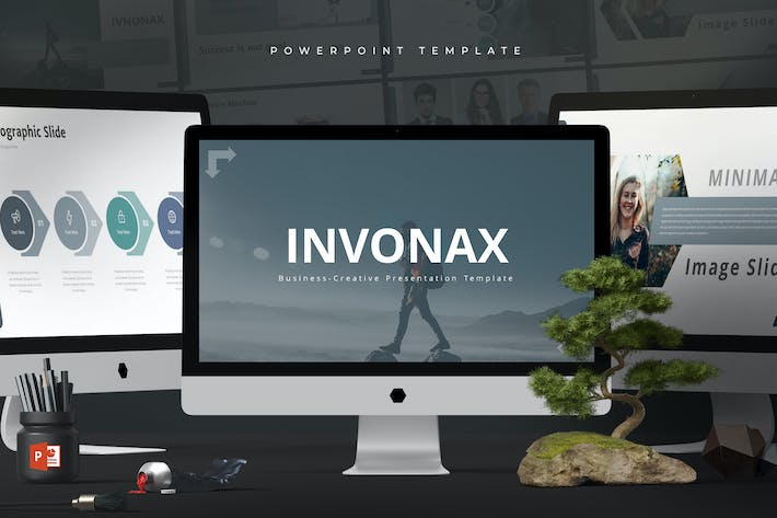 Thumbnail for Invonax - Powerpoint Template