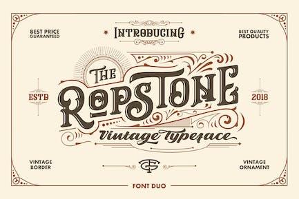 Tipo de letra de Ropstone
