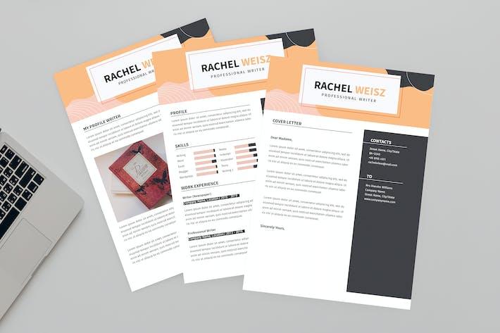 Thumbnail for CV Return Resume Designer