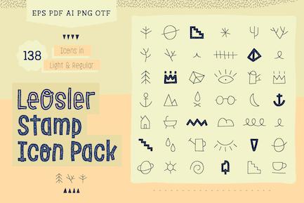 LeoSler Stempel Icon Pack