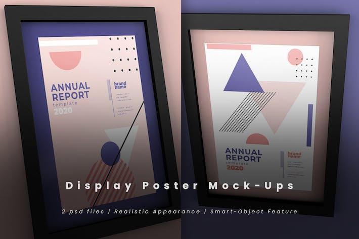 Thumbnail for Display Poster Mock-Ups