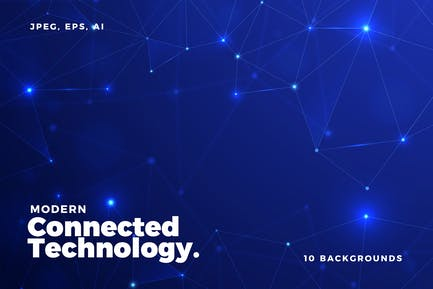 10 Abstract Technology Backgrounds