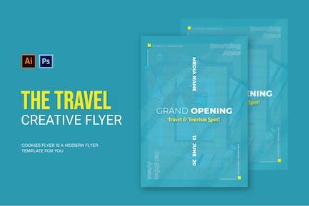 Travel & Tourist Spot - Flyer