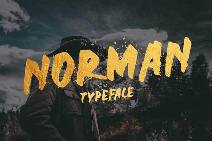 Thumbnail for Norman Font