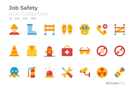 Job Safety Color Icon