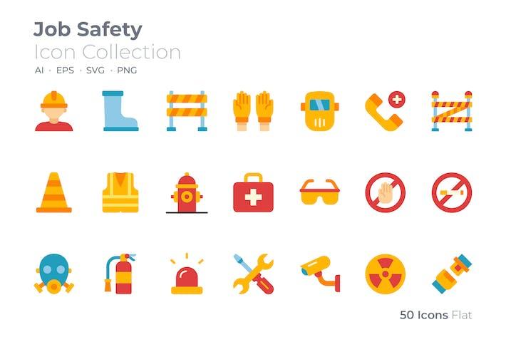 Job-Sicherheits-Farbsymbol