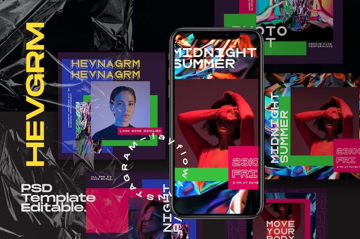 Thumbnail for HEVGRAM - Social Media Instagram Pack