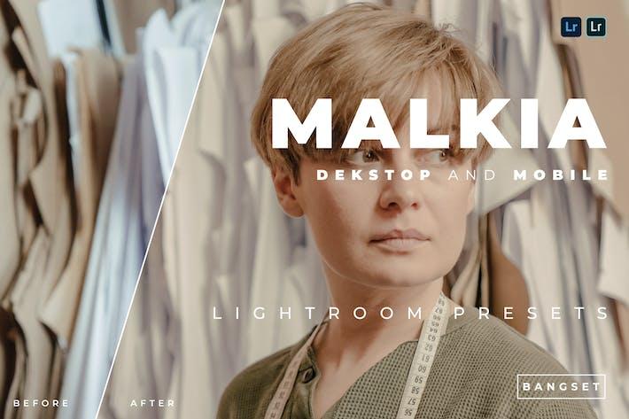 Malkia Desktop and Mobile Lightroom Preset