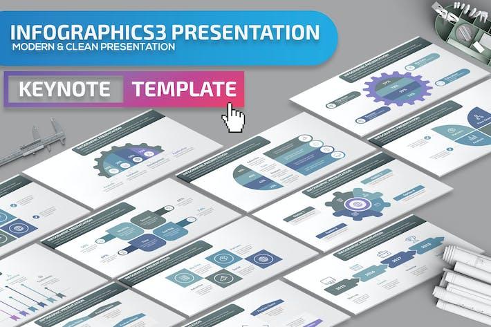 Thumbnail for Infographics3 Keynote Presentation Template