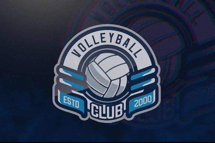 Thumbnail for Volleyball Club ESTD2000 Sports Logo