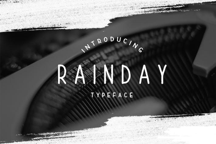Thumbnail for Rainday Font