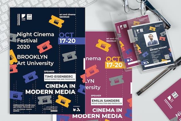 Cinema Festival Theme - Seminar Invitation