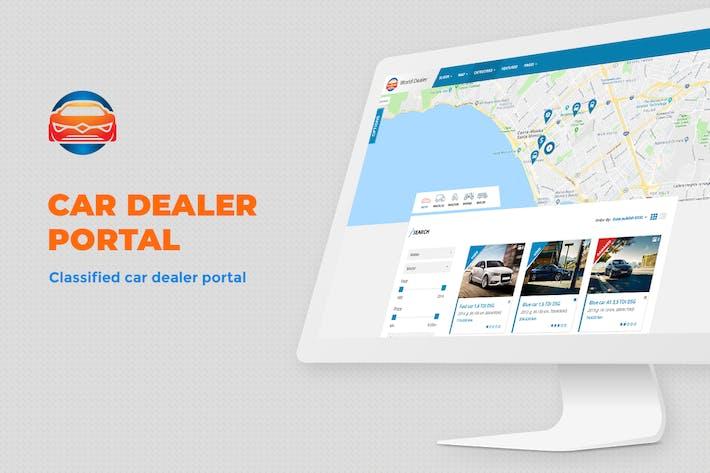 Thumbnail for Plantilla de directorio clasificado de concesionarios de automóviles