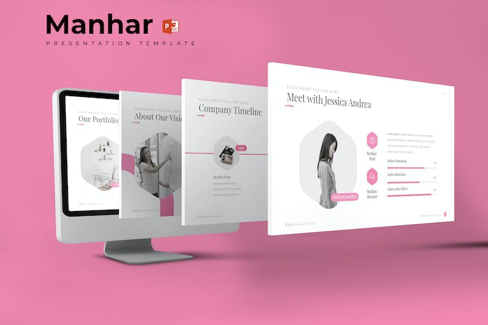 Thumbnail for Manhar - Powerpoint Template