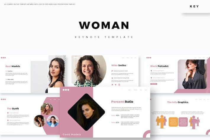 Женщины - Шаблон Keynote