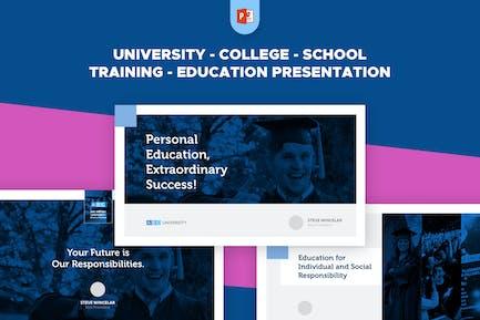 University School College Training Education PPT