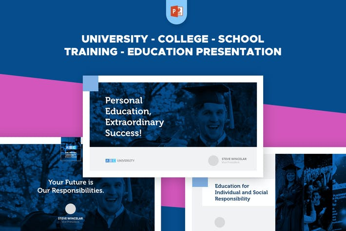 Thumbnail for University School College Training Education PPT