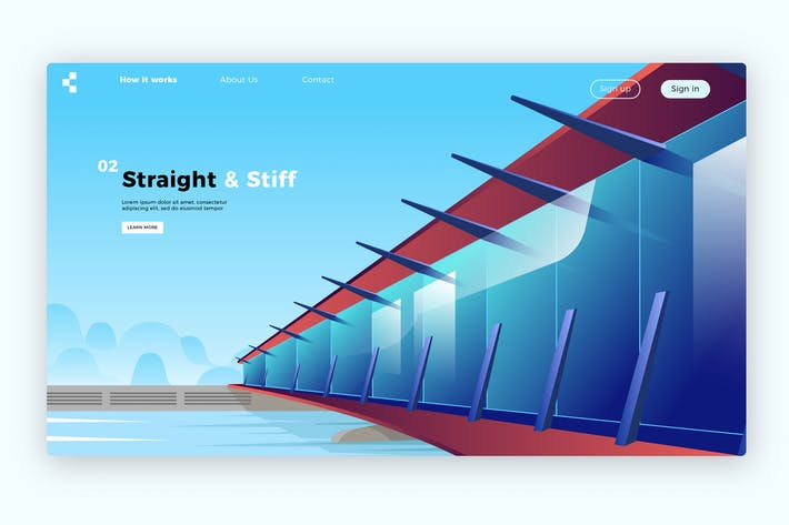 Thumbnail for Architecture - Banner & Landing Page