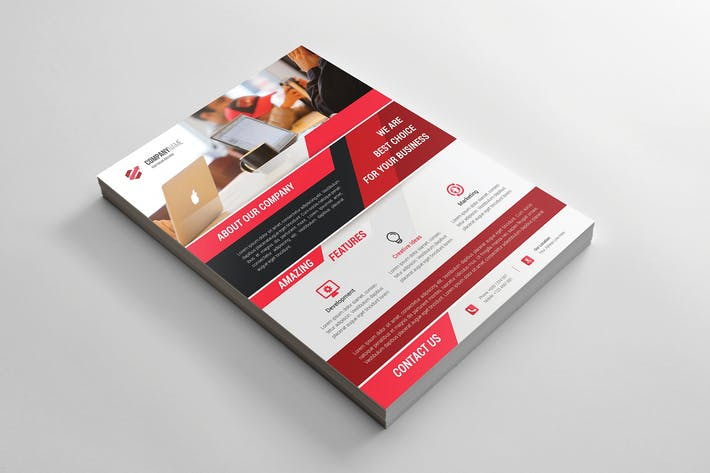 Thumbnail for Unternehmens- Flyer